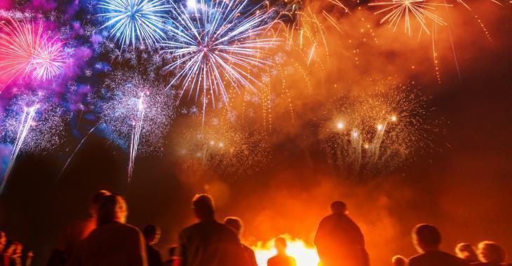 Pas de feux d'artifice cette année pour la fête nationale.