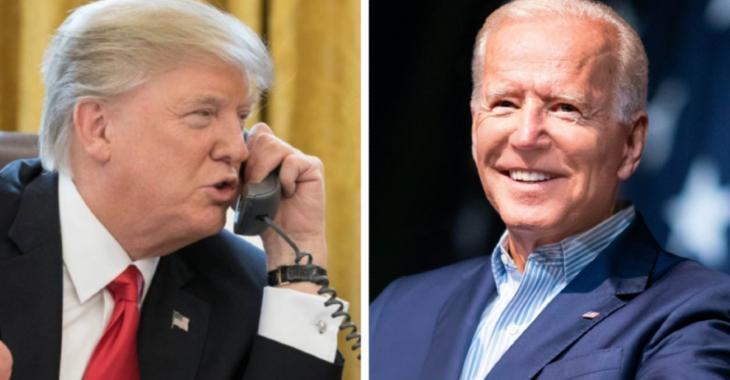 Donald Trump chute dans les sondages au profit de Joe Biden