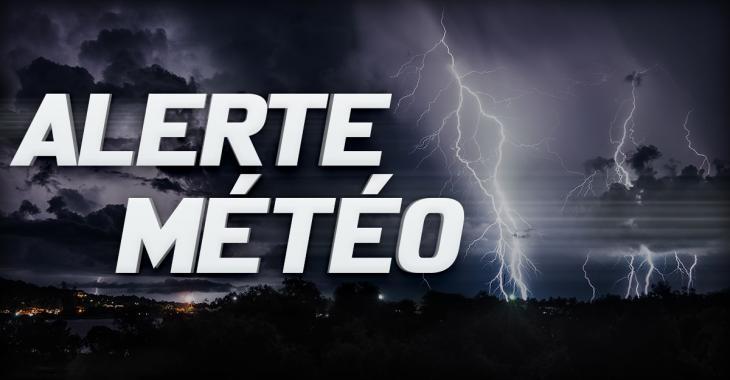 ALERTE MÉTÉO: Risques d'orages et de grêle au Québec ce week-end