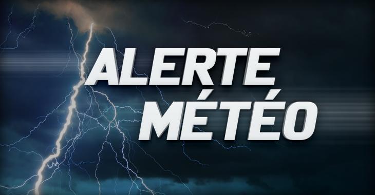 Environnement Canada émet une alerte d'orages violents pour plusieurs secteurs du Québec