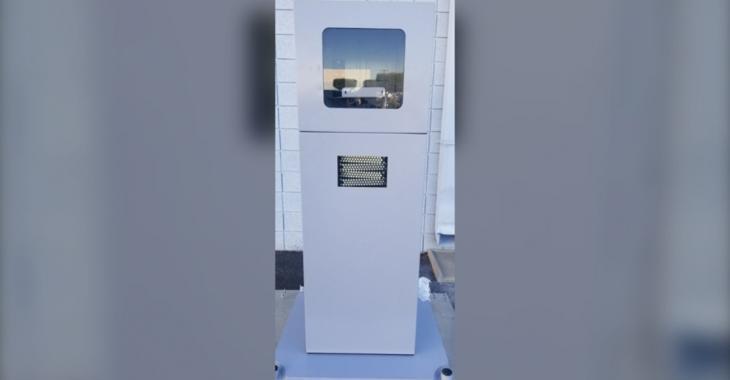 Un radar photo de 800 livres volé à une intersection