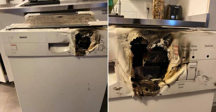 Son lave-vaisselle Bosch explose, elle raconte toute l'histoire sur Facebook