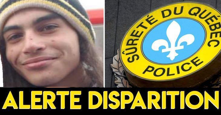 La SQ demande l'aide du public afin de retrouver cet adolescent de 16 ans.