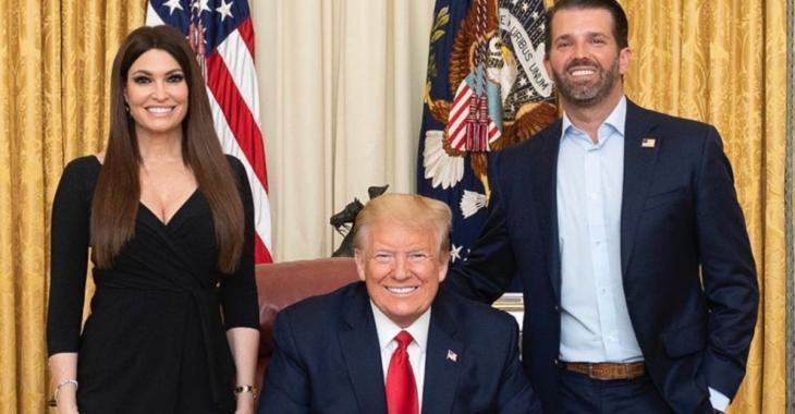 La petite amie de Donald Trump Jr testée positive à la COVID-19