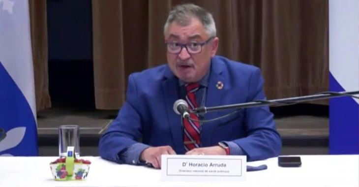 Le directeur national de la santé publique songe à rendre le masque obligatoire partout au Québec.