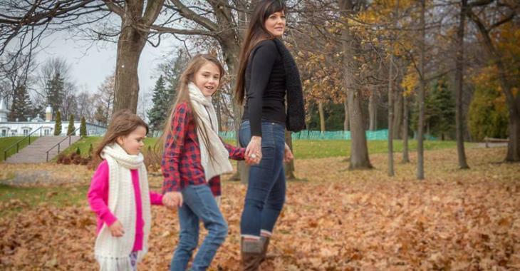 «Vous êtes toute ma vie, ma raison d'exister», dit Amélie Lemieux, en pleurs, à ses filles décédées