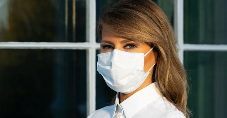 Melania Trump fait la promotion du port du masque sur les médias sociaux
