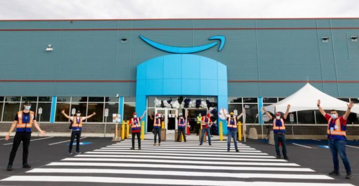 Amazon Canada ouvre son premier entrepôt au Québec