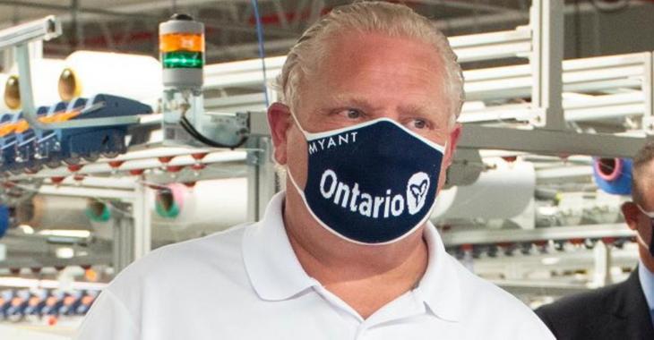 Doug Ford estime que les Canadiens vont probablement porter des masques pendant plusieurs années