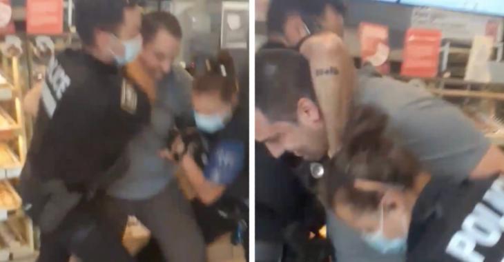 Un Québécois qui refusait de porter un masque au Tim Hortons se fait arrêter par la police