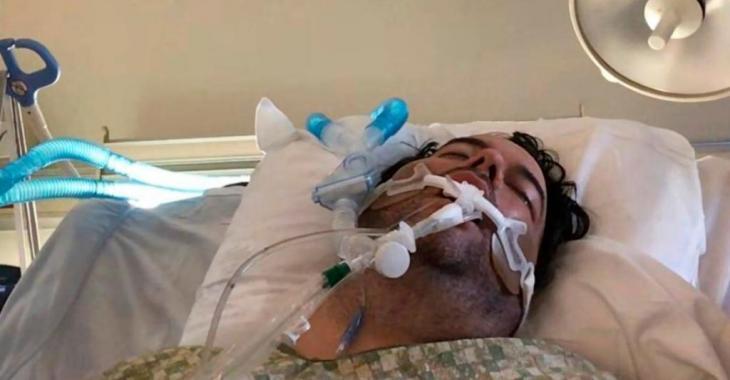 Un père hospitalisé en raison de la COVID-19 après que son fils ait rencontré des amis sans la permission de ses parents.