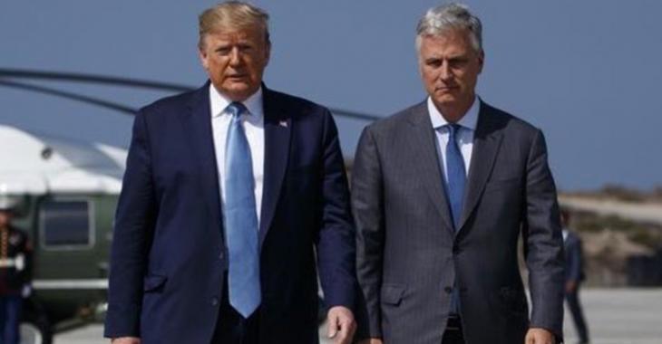 Le conseiller de Donald Trump à la sécurité nationale testé positif à la COVID-19