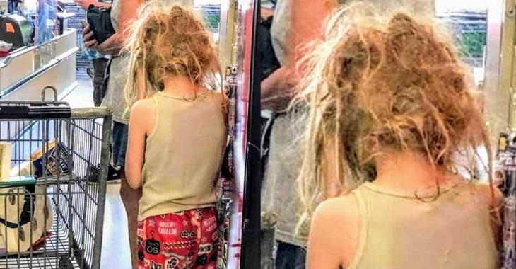 «Les cheveux de cette pauvre enfant étaient tous emmêlés, ses vêtements sales»