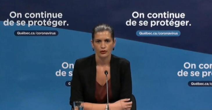 Débordements aux manifestations anti-masques: «Ce n'est pas acceptable!», dit Geneviève Guilbault