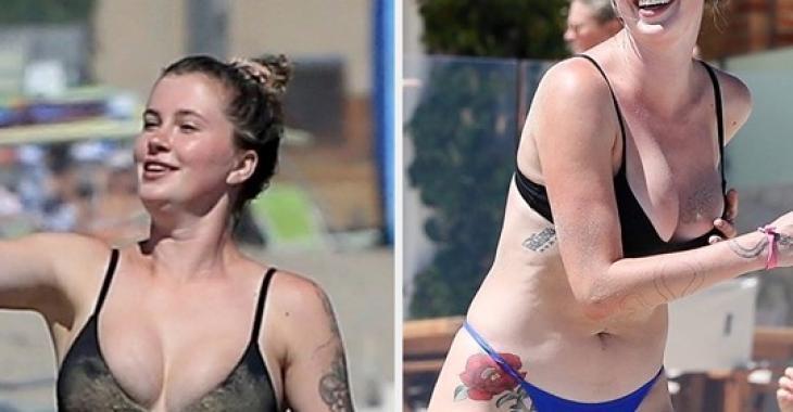 Ireland Baldwin publie elle-même des photos d'elle en bikini que les paparazzis ont pris