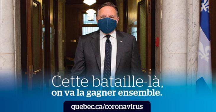 Québec songe à des moyens de répression contre les manifestations anti-masque