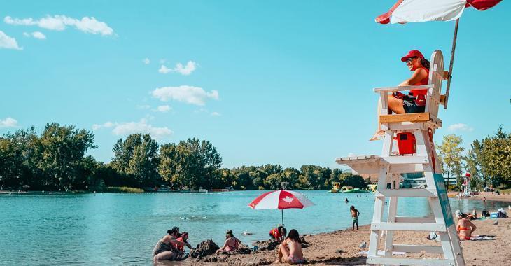 Fermeture de la plage Jean-Doré au parc Jean-Drapeau en raison d'une contamination bactériologique élevée