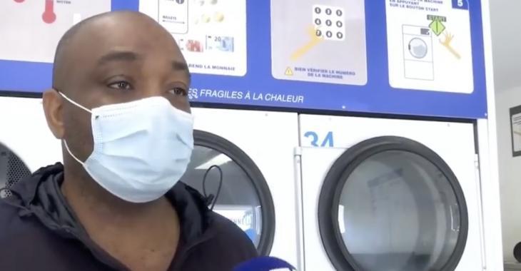 Des individus contre le port du masque agressent violemment un père de famille dans une laverie