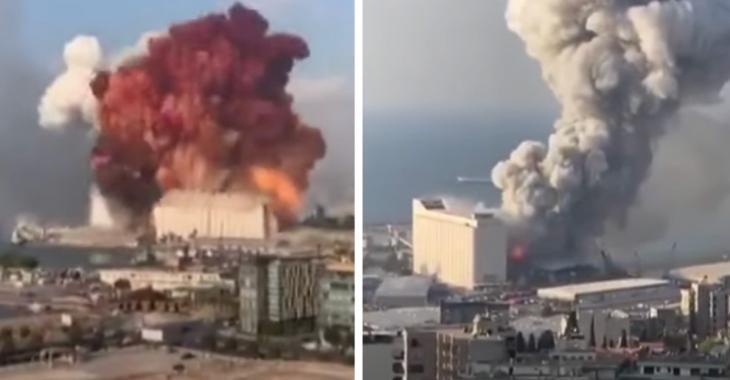 Au moins 100 morts et 4000 blessés après les explosions à Beyrouth