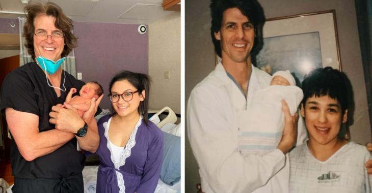 Un médecin aide une jeune femme à accoucher 25 ans après avoir aidé sa mère à lui donner la vie