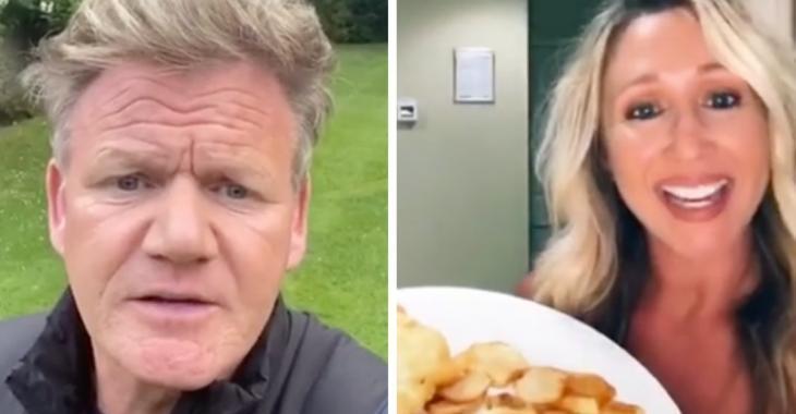 Gordon Ramsay détruit les recettes des internautes sur les médias sociaux