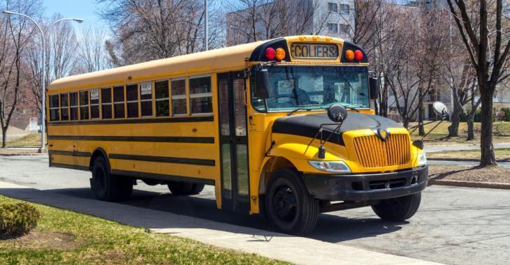 Des chauffeurs d'autobus souhaitent le port du masque pour tous les élèves