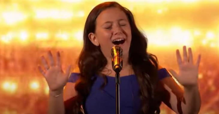 À seulement 10 ans, la Canadienne Roberta Battaglia éblouit les juges et le public avec sa voix