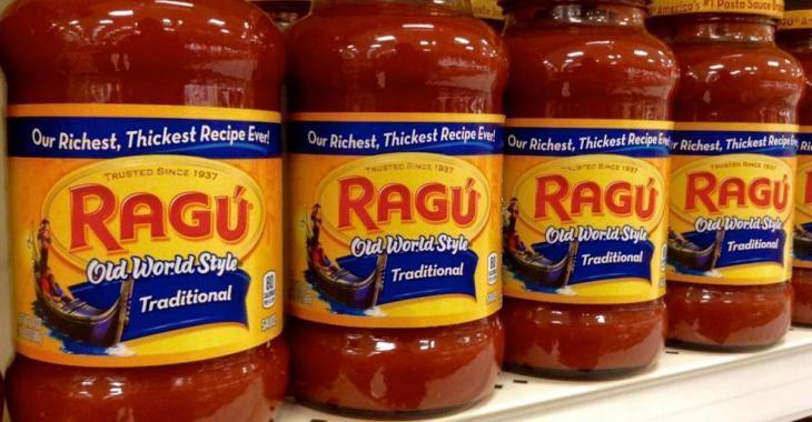 C'est la fin pour la populaire marque de sauces Ragu au Canada.