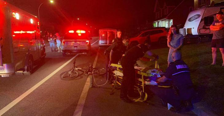 Délit de fuite: une fillette de 12 ans à vélo frappée par une conductrice
