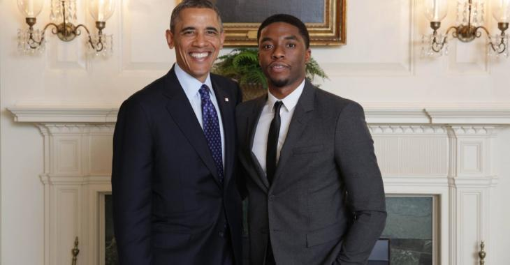 Barack Obama rend un vibrant hommage à Chadwick Boseman