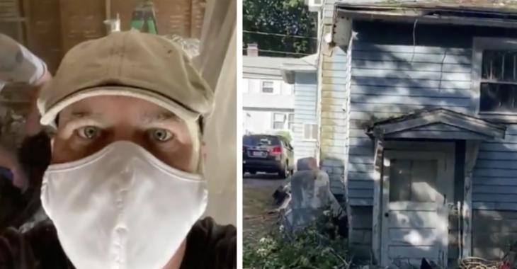 Un électricien rassemble des entrepreneurs locaux afin de réparer gratuitement la maison en ruine d'une femme âgée.