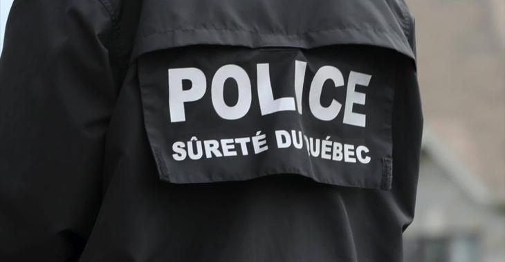 Importante opération policière en cours en Beauce