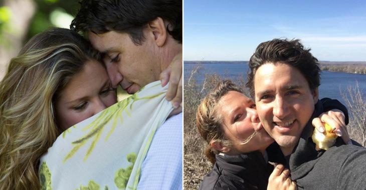Sophie Grégoire Trudeau publie une photo adorable pour souligner le jour qu'elle est tombée amoureuse de Justin Trudeau