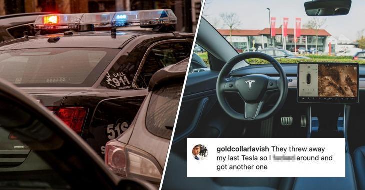 Arrêté pour avoir roulé dans une Tesla sans conducteur, il en achète une nouvelle et recommence dès sa sortie de prison